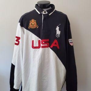 Ralph Lauren Polo 3XLT men's Rugby USA